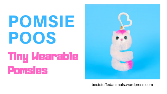 Pomsie Poos tiny wearable miniature Pomsies